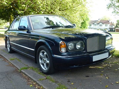 Lot 61-1999 Bentley Arnage Green Label