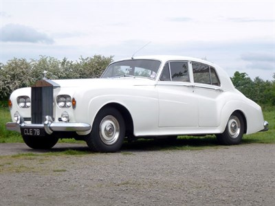 Lot 24-1964 Rolls-Royce Silver Cloud III