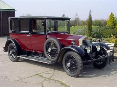 Lot 56 - 1927 Rolls-Royce 20hp Landaulette