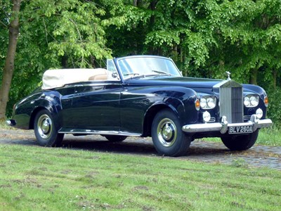 Lot 47-1963 Rolls-Royce Silver Cloud III Drophead Coupe