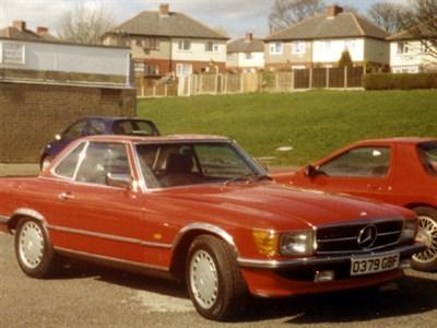 Lot 46-1986 Mercedes-Benz 300 SL