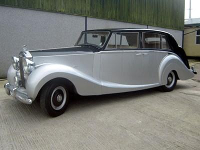 Lot 10 - 1952 Rolls-Royce Silver Wraith
