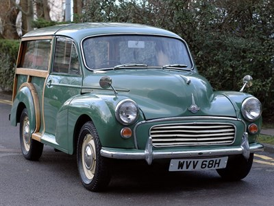 Lot 6-1970 Morris Minor 1000 Traveller