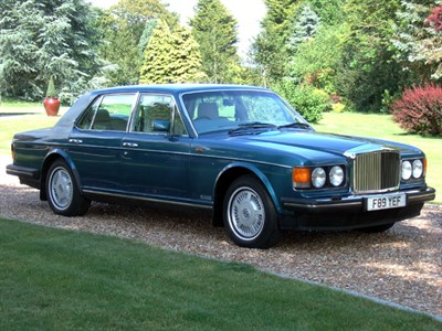Lot 13-1989 Bentley Mulsanne S