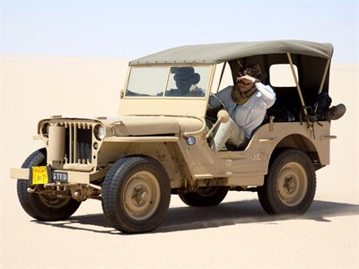 Lot 11-1943 Willys MB Jeep