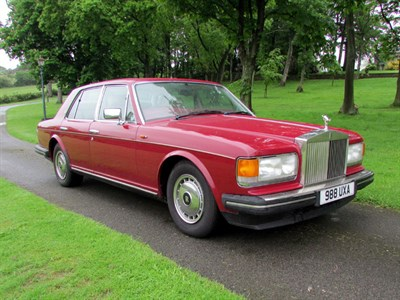 Lot 59-1992 Rolls-Royce Silver Spirit II