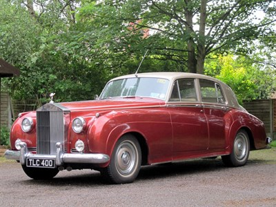 Lot 39-1956 Rolls-Royce Silver Cloud