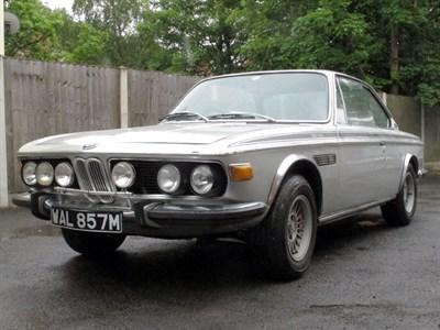 Lot 5-1973 BMW 3.0 CSL