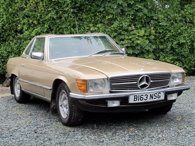 Lot 44-1985 Mercedes-Benz 380 SL