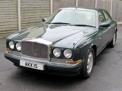 Lot 40-1993 Bentley Continental R
