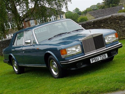 Lot 5-1982 Rolls-Royce Silver Spirit