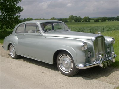 Lot 63-1957 Bentley S1 James Young Coupe