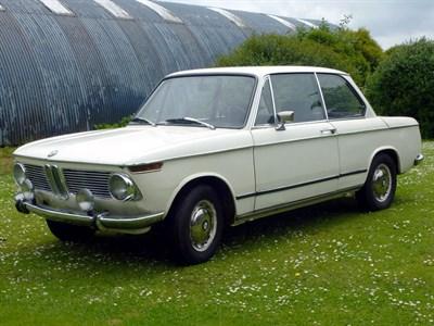 Lot 31 - 1969 BMW 1602