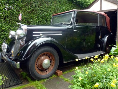 Lot 5-1936 Vauxhall DX 14/6 Cabriolet