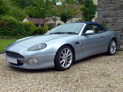 Lot 52-1999 Aston Martin DB7 Vantage Volante