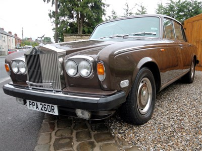 Lot 2-1977 Rolls-Royce Silver Shadow II