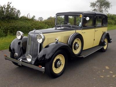 Lot 9 - 1936 Armstrong Siddeley 20/25 Limousine de Ville