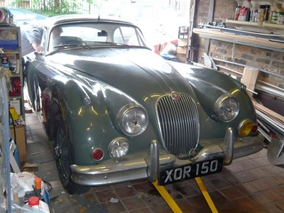Lot 72-1960 Jaguar XK150 S 3.8 Litre Fixed Head Coupe