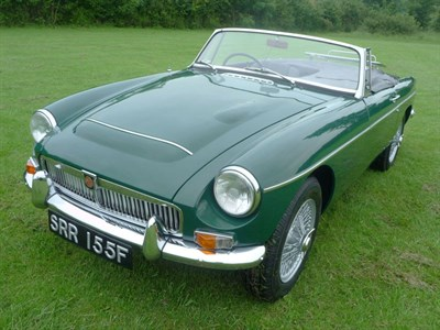 Lot 36-1968 MG C Roadster