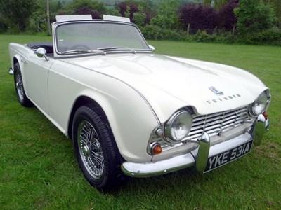 Lot 37 - 1963 Triumph TR4