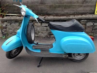 Lot 2-1965 Vespa 50 L