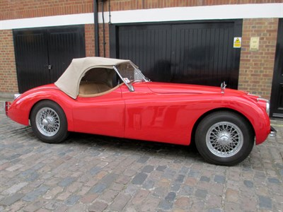 Lot 74-1954 Jaguar XK120 Roadster