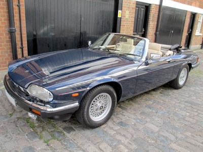 Lot 75-1989 Jaguar XJ-S 5.3 Convertible