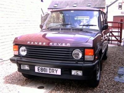 Lot 45-1987 Range Rover Vogue EFi