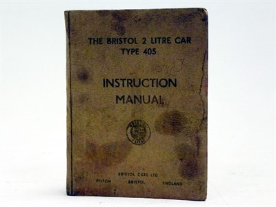 Lot 47 - 'The Bristol 2-Litre' Instruction Manual
