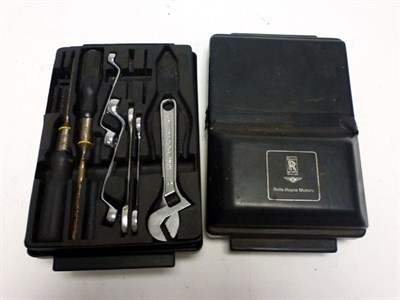 Lot 78 - Two Rolls-Royce Toolkits