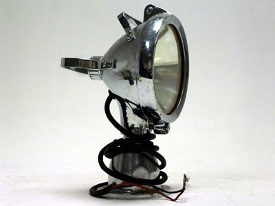 Lot 79 - A Chromed Search Lamp