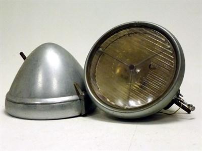 Lot 88 - A Pair of Lucas P100 'R' Headlamps