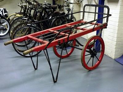 Lot 91 - An Early 'G.P.O' Hand Cart**