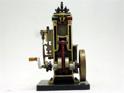 Lot 93-Single Cylinder Cut-Away Engine