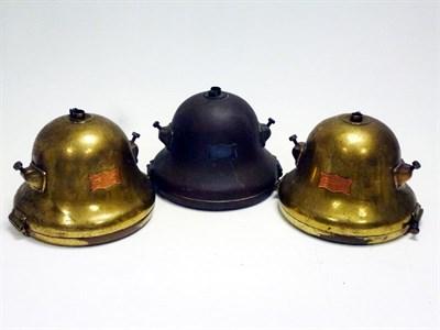 Lot 10 - Three C.A.V. Model 'F' Headlamps