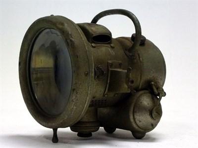 Lot 19 - A Lucas 'Landalite' Acetylene Headlamp