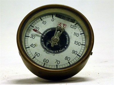Lot 22 - An Early Speedometer