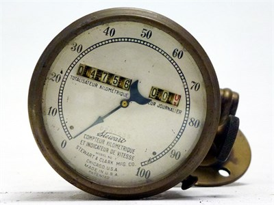 Lot 24 - An Early Speedometer