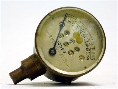 Lot 25 - An Early Speedometer