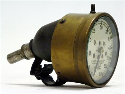 Lot 64 - An Early 'S.Smith & Son' Motorcycle Speedometer