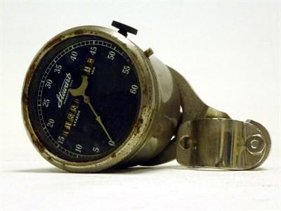 Lot 66 - An Early 'Stewart' Motorcycle Speedometer