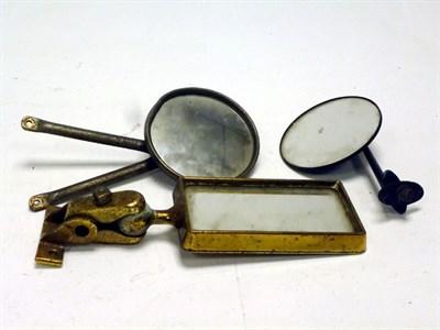 Lot 67-Three Rear-View Mirrors