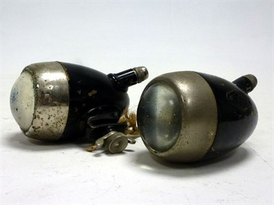 Lot 70 - A Pair of Howes & Burley Side Lamps
