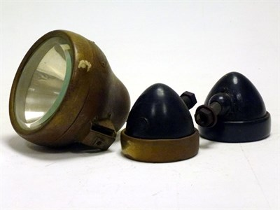 Lot 71 - Three Side Lamps