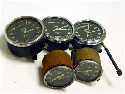 Lot 75-Smiths Dashboard Instruments