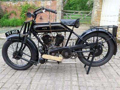Lot 34 - 1927 AJS Model H2