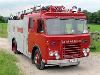 Lot 33-1971 Dennis F48 Fire Appliance