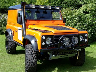 Lot 50-1988 Land Rover 90