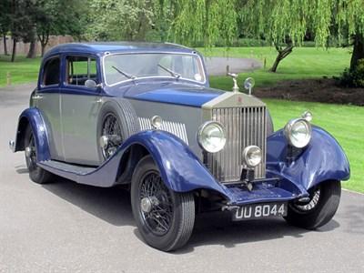 Lot 54-1929 Rolls-Royce 20hp Saloon