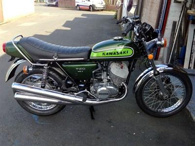 Lot 21 - 1974 Kawasaki H2B Mach IV